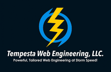 Tempesta Web Engineering, LLC. Logo