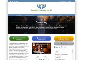 screenshot of business directory website for Tempesta Web Engineering in Warren, Oh